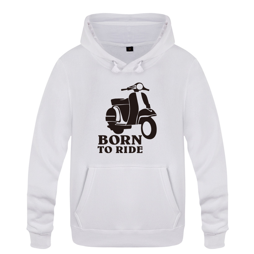 d14dd7a0abab4 Acheter Born To Ride Sweat Shirt Scooter Cycliste Cadeau Sweat ...