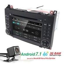 2 DIN c A R DVD GPS он A D Unit для Mercedes Benz B200 a b CL A ss W169 W245 VI A без Vito W639 Sprinter W906 WI-FI 4 г Bluetooth R a dio SWC
