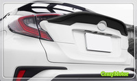 For TOYOTA C HR 2016 2017 Black Car Spoiler Wing 1pcs Auto Accessories Car Styling