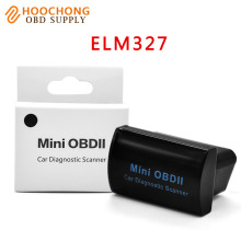 Super Mini OBD II Elm 327 V2.1 Bluetooth On Android Phone/PC Elm327 V 2.1 adapter diagnostic-tool BT interface