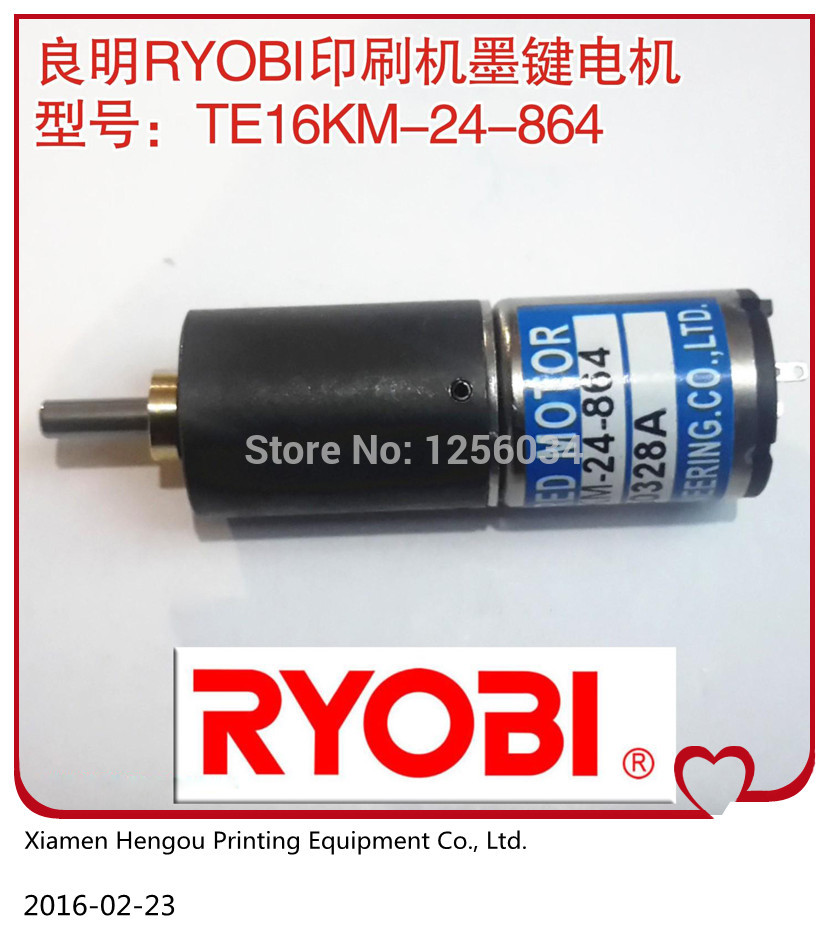 1 piece Roybi ink key motor TE16KM-24-864, Roybi printing machine parts 10 pieces dhl free shipping roybi ink key motor te16km 24 864 roybi printing machine parts te 16km 24 864