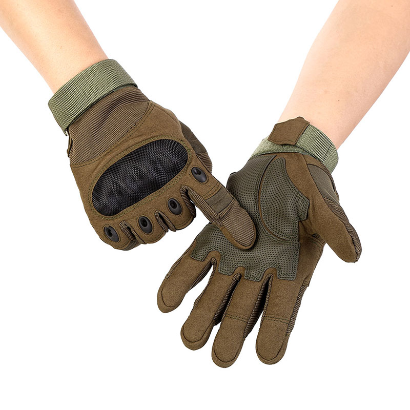 2017 Touch Screen Military Tactical Airsoft Outdoor Hard Knuckle Full Finger Gloves