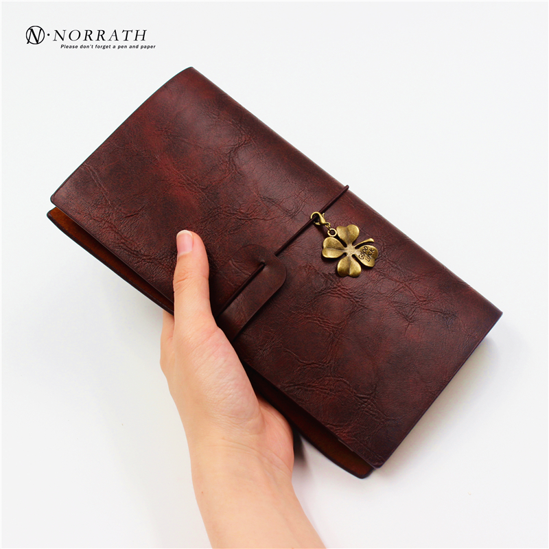 NORRATH Vintage Notebook Leather Diary Sketch book Planner Notepad Diary Book Journal Record Office School Supplies Gifts kawaii stationery cute a5 notebook 32 page notepad diary book journal record office school supplies caderno for kids gifts