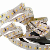 DC24V CCT 2in1 Led Strip Light 5050 3527 120leds/M CW/WW Two Color Temperature Adjustable led strip Dimmable Tape 5M