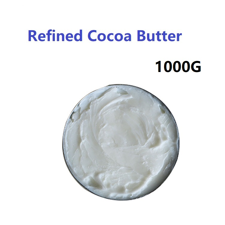2018 New Hot Sale Refined Cocoa Butter 1000G Pure Base Oil Natural ORGANIC  Essential Oil 1kg africa ghana natural shea butter unrefined organic pure pregnant women baby can eat