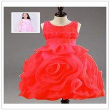 Платья супер мягкие и удобные девушки платье летом, Ruched белый цветочница платье, Лолита стиль большой бант