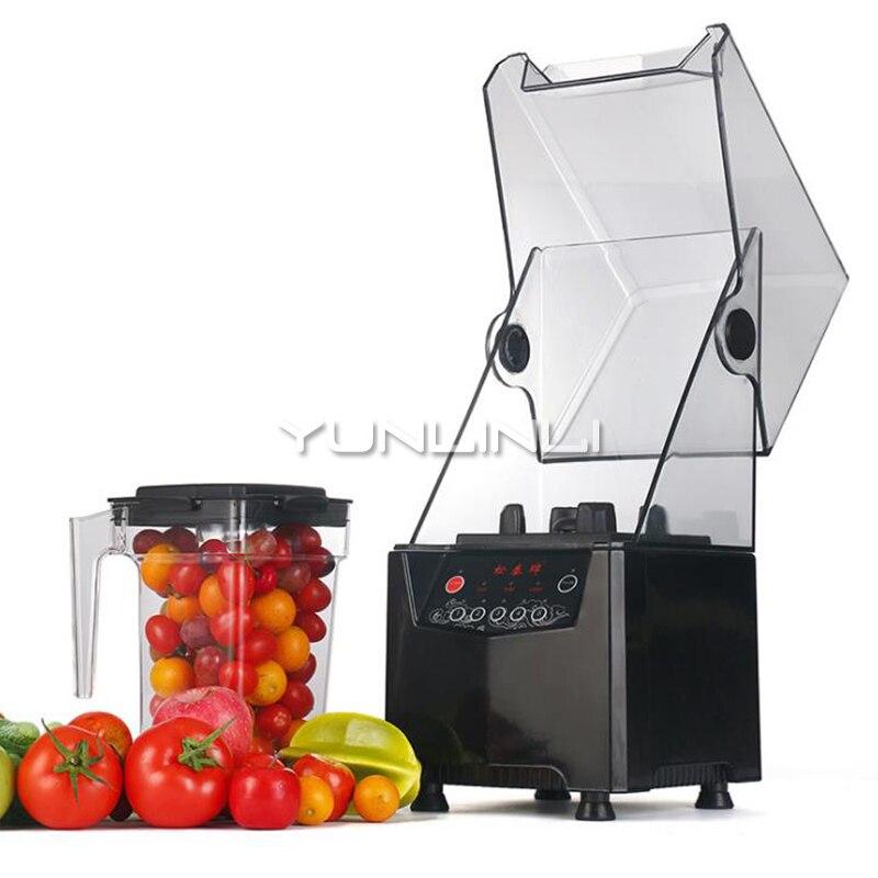 Comercial Liquidificador Processador de Alimentos Multifuncional Misturador Máquina de Leite de Soja Extrator De Suco Liquidificador Portátil Silencioso ST-992