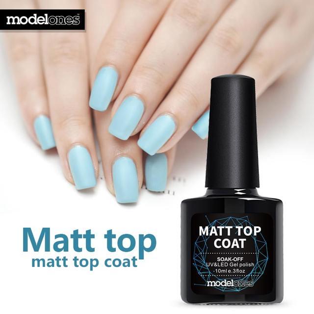 Online Shop Modelones 10ML Beauty Long Lasting Matte Top Coat Gel