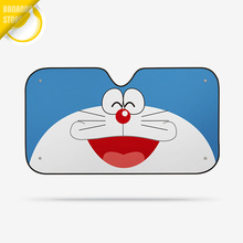 Doraemon Cartoon Car Windshield Sunshade Windscreen Cover Solar Protection Auto Zonnescherm Parasole Parasol Coche C0340B13
