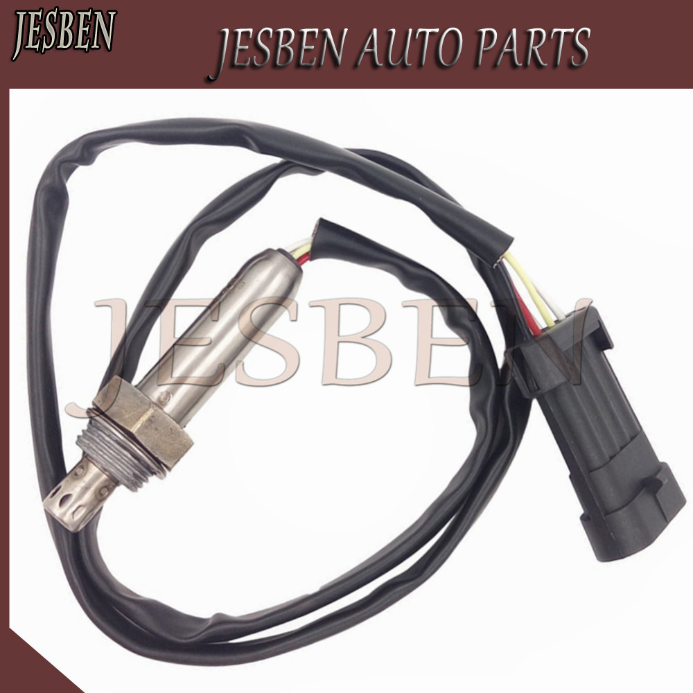 JESBEN Free shipping AIR FUEL RATIO Lamda Oxygen Sensor For Opel Vauxhall Holden Astra Vectra Calibra Zafira 1.8L 2.0L 90528253