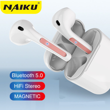 New Y22 tws Bluetooth Earphone Wireless earphones Touch control Earbuds 4D Surround Sound & Charging case for all smartphone