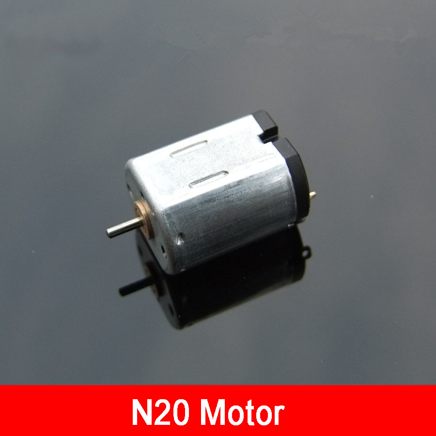 High Speed N20 Dc Motor 6v 18000rpm Delicate Micro Toy