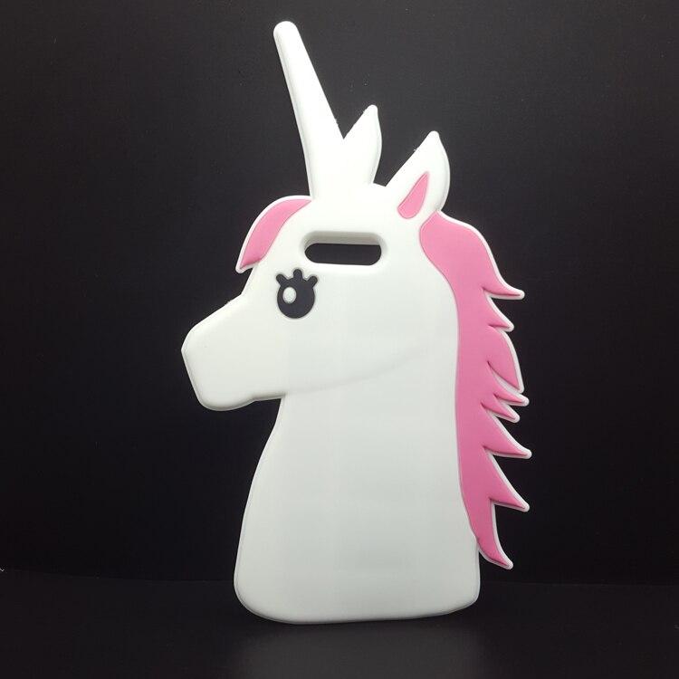 """HTB1tpnGNXXXXXXkXFXXq6xXFXXXf - Fashion 3D Cute Cartoon Unicorn Soft Silicon Rubber Case Cover For iPhone 4 4s 5 5s SE 6 7 6s plus 7 plus 4.7/5.5"""" White Horse"""
