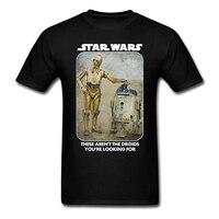 Star Wars Robot R2D2 C3PO Force Men S T Shirt New Arrival Summer Shorts Cotton Top