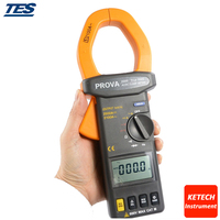 True RMS Digital Clamp Meter DC/AC 2000A Current Voltage Resistance Tester PROVA2000