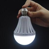 7 W 9 W 12 W 15 W Lâmpada LED New Plastic LED Energy-saving Lâmpada de Emergência Em Casa de Toque controle de Iluminação brilhante Bulbo 5730 Eletrostática