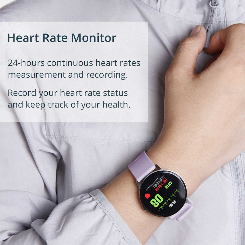 COLMI Smart Watch V11 Waterproof Bluetooth Heart Rate Vibration  Multi-sports Mode Wrist Smartwatch for Xiao mi Android IOS Phone
