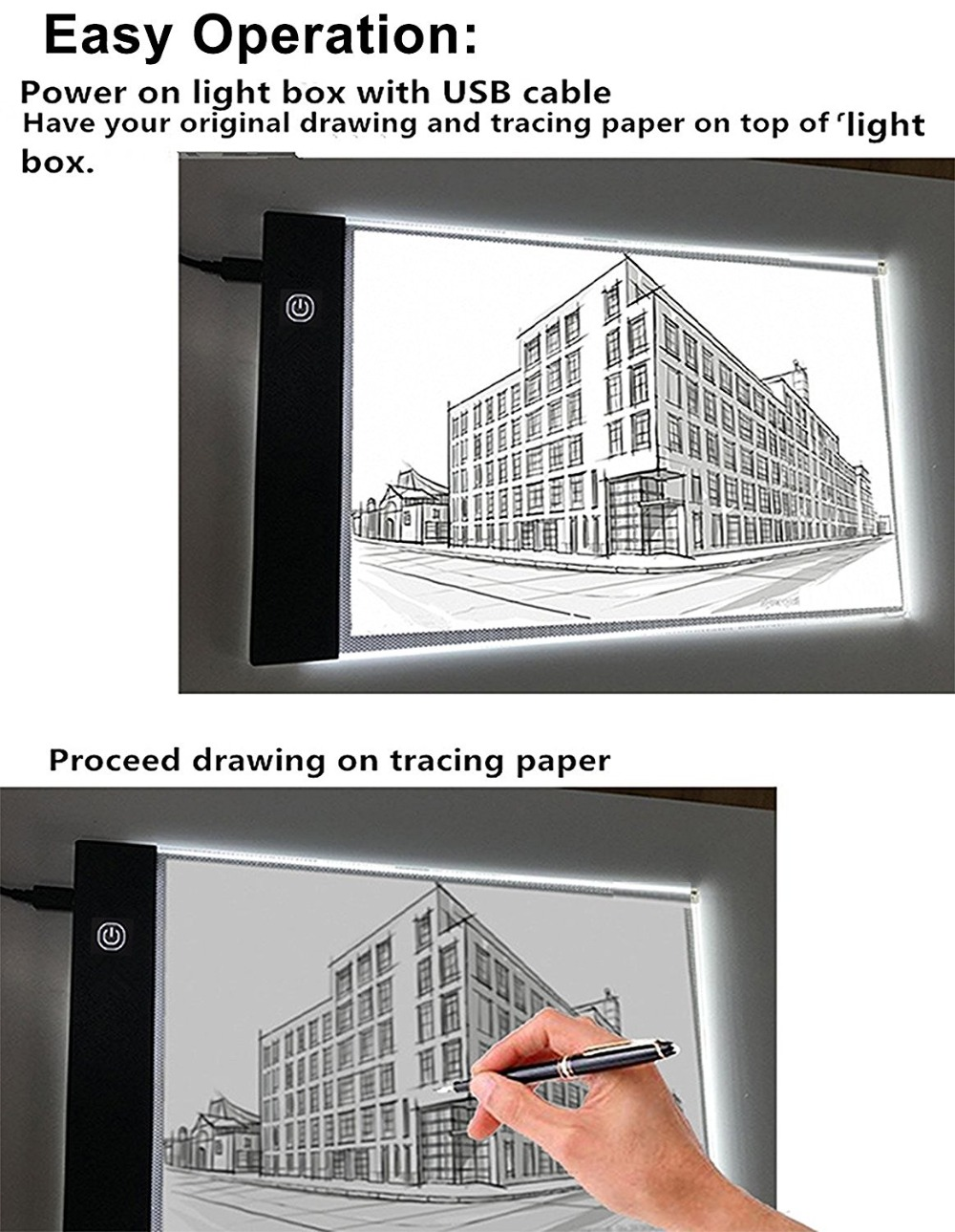 lighting light box