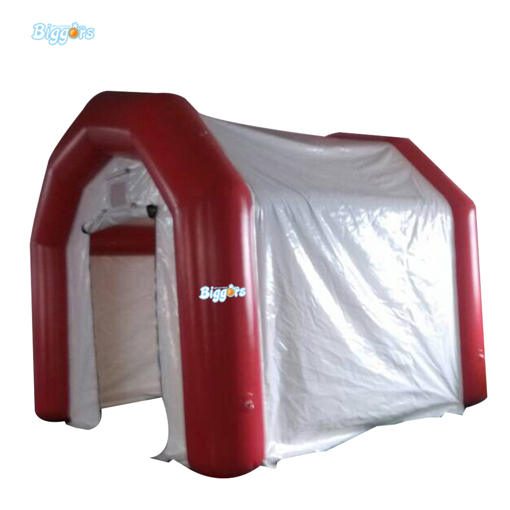 цена Oxford Nylon Material Inflatable House Tent Hot Popular Inflatable Tent With LED