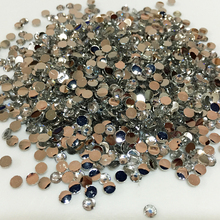 1000pcs/bag 2mm 3mm Size Transparent 14 Facets Round Crystal Resin Rhinestone ss12 Flatback Phone Decor Nail Art Diamond 13