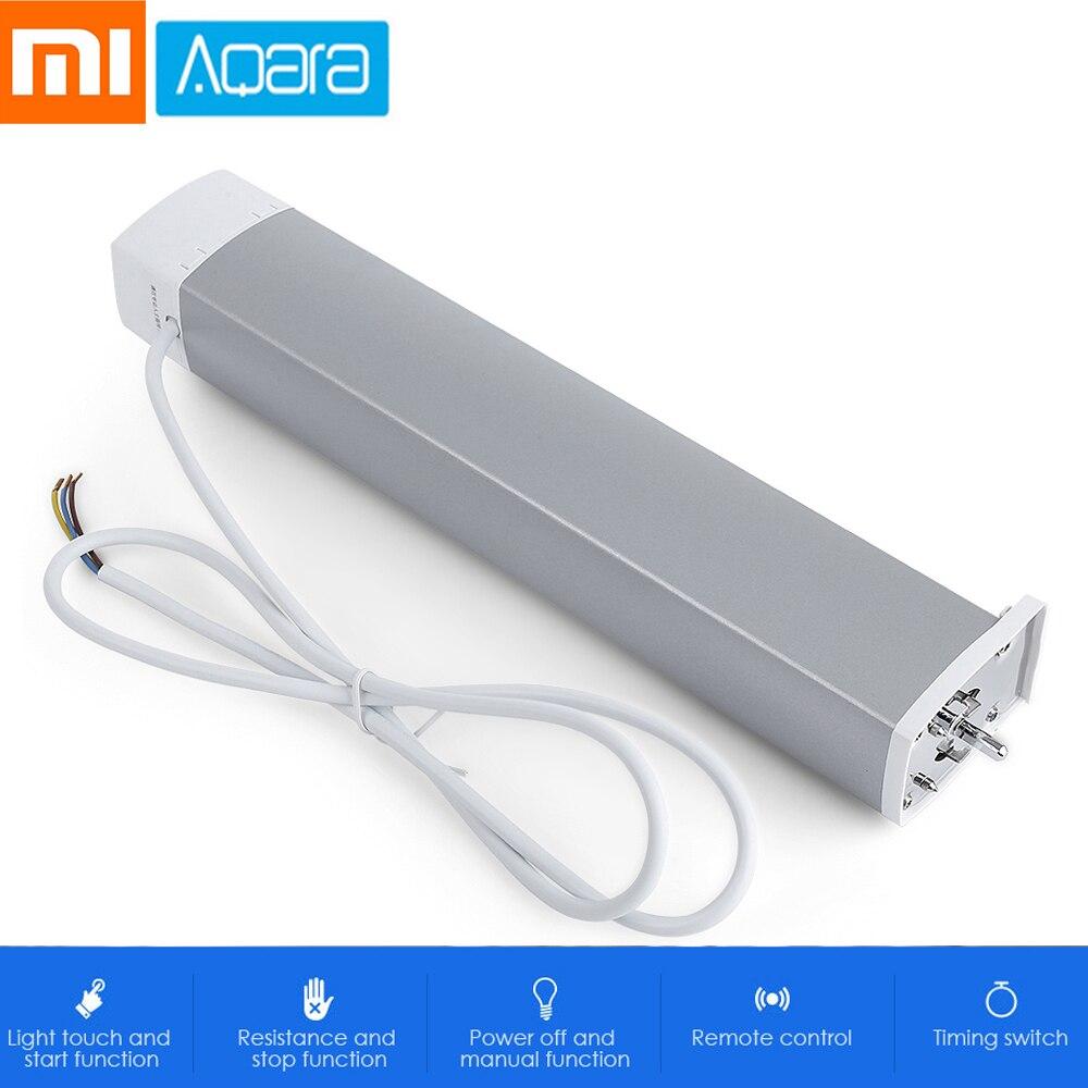 Xiaomi Aqara Rideau Moteur Télécommande Dispositif de La Maison Intelligente ZigBee Sans Fil Connexion Interrupteur Temporisé Résistance Fonction D'arrêt