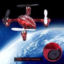 2.4G 4CH RC Quadcopter 0.3MP Camera Gyro Drone Silver Quad Hubsan H107C FPV
