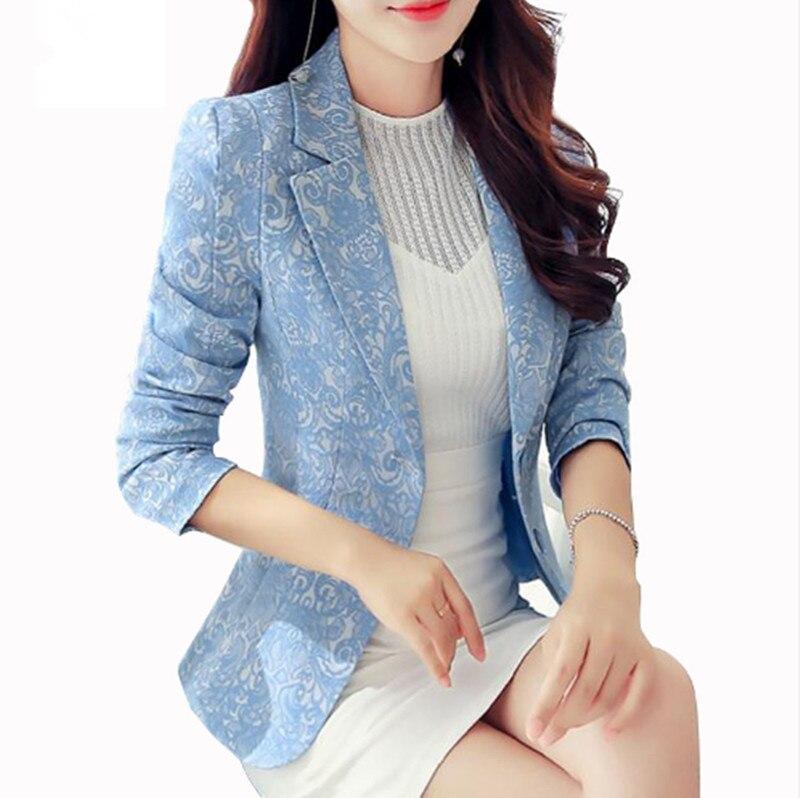 Billiger Preis 2018 Mode Damen Blazer Plus Größe 3xl Formale Jacke Frauen Weiß Blau Rosa Schwarz Blaser Rosa Weibliche Frauen Anzug Büro Damen Angenehm Im Nachgeschmack Blazer