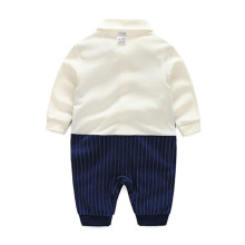 Stripe Gentleman Baby Rompers
