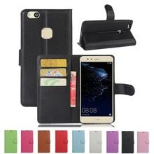 Роскошный футляр для телефона Funda для huawei P10 Lite Coques с подставкой и откидной крышкой, кошелек из искусственной кожи, сумка для huawei P10 Lite