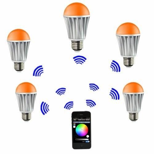 WiFi lumière de LED intelligente lampe ampoule E27 multicolore couleur changeante RGB Homekit Compatible avec Alexa, Google Home Assistant IFTTT - 4
