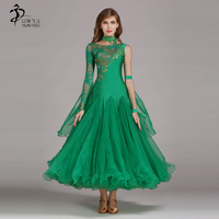 8Colors Ballroom Dance CompetitionDresses Woman Ballroom Dress Standard Dance Dresses 2019