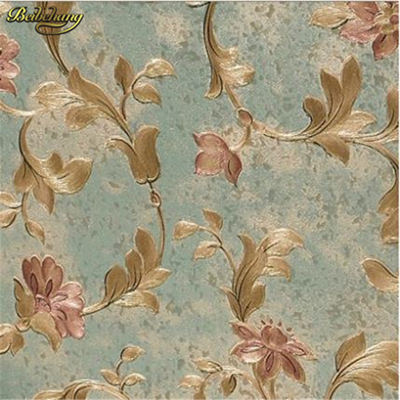 beibehang Luxurious flowery floral PVC wallpaper design 3D home gorgeous decor for bedroom living room backgpapel de parede 1000g tender skin whitening beauty salon products skin care dedicated plant rose soft powder peel off mask wholesale