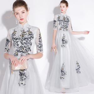 e8dedf4cdd1 Frikocann floor length sexy lady women party dress gown