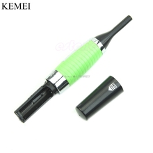 Y122-Nose Ear Face Personal Neck Eyebrow Hair Trimmer LED Lights Shaver Clipper Cleaner Health Care -B118