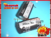 line of electrolytic 400V/100UF 18*30 in-line volume electrolytic capacitors