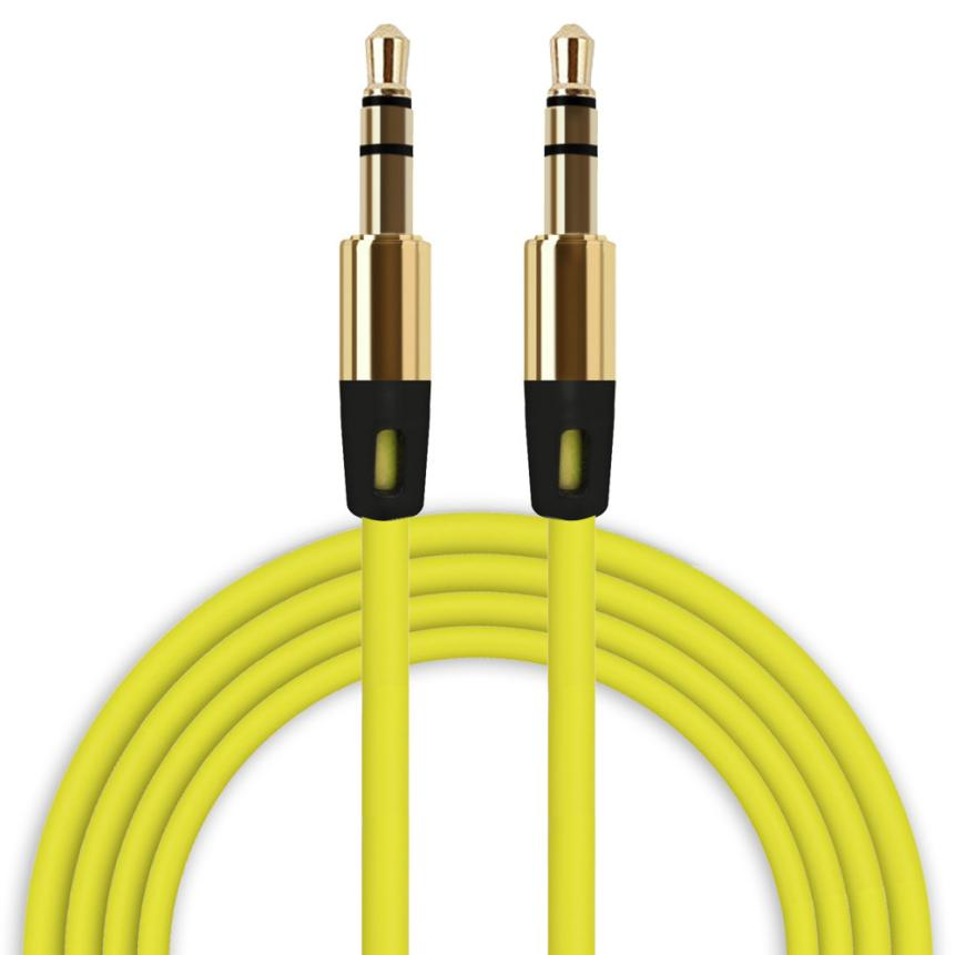 35mm Auxiliary Cable Audio Cable Male To Male Flat Aux CableKXL0725