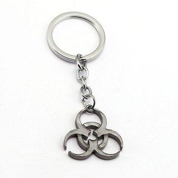 Porte-clés et Pendentif Resident Evil Biohazard