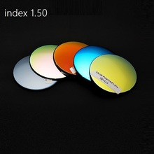 1.50 Polarized sunglasses lenses colorful spherical brand myopia prescription optical fishing cycling lense