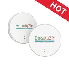 super translucent dental zirkon blcke Dental CADCAM Milling Machine Zirconia Block 98mm thickness 10-25mm