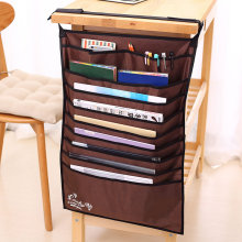 multifunctional desks emperorship books cloth bag adjustable books storage bag rack book Bookends