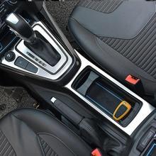 купить Auto Gear Automobile Personalized Decorative Chromium Modified Car Styling Protecter Decoration Parts 15 17 18 FOR Ford Focus дешево