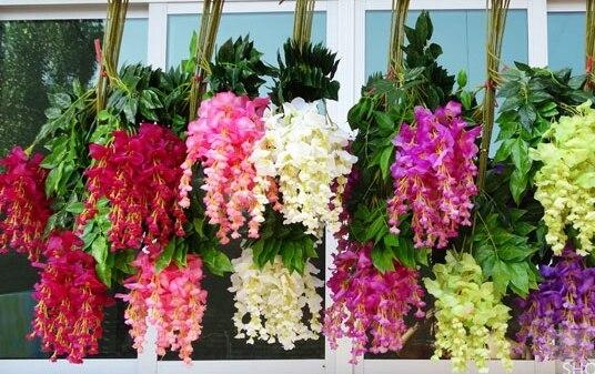 Intergards глицинии искусственный цветок - Товары для праздников и вечеринок - Фотография 5