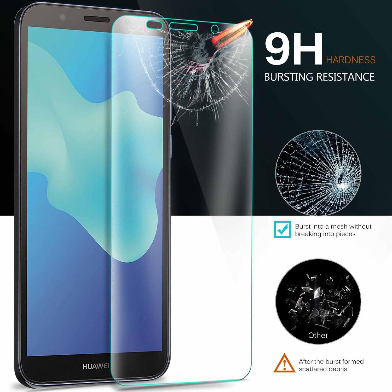 9 H 2.5D Temperli Cam Huawei Y5 Lite 2018 Ekran Koruyucu Y5 Lite 2018 Cam Huawei Y5Lite 2018 Koruyucu film DRA-LX5