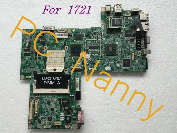 ФОТО For Dell Inspiron 1721 laptop AMD motherboard MY554 0MY554 CN-0MY554 DA0FX5MB8D0 Tested