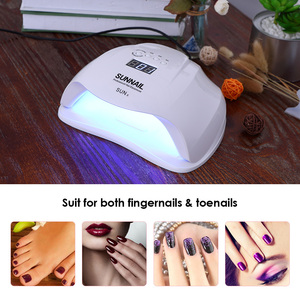 Image 5 - Abody SUN X 40W/54W/80W UV Lamp LED Ice Lamps Nail Gel Polish Dryer Manicure Machine for SUNone all gel nails Art Curing X9plus