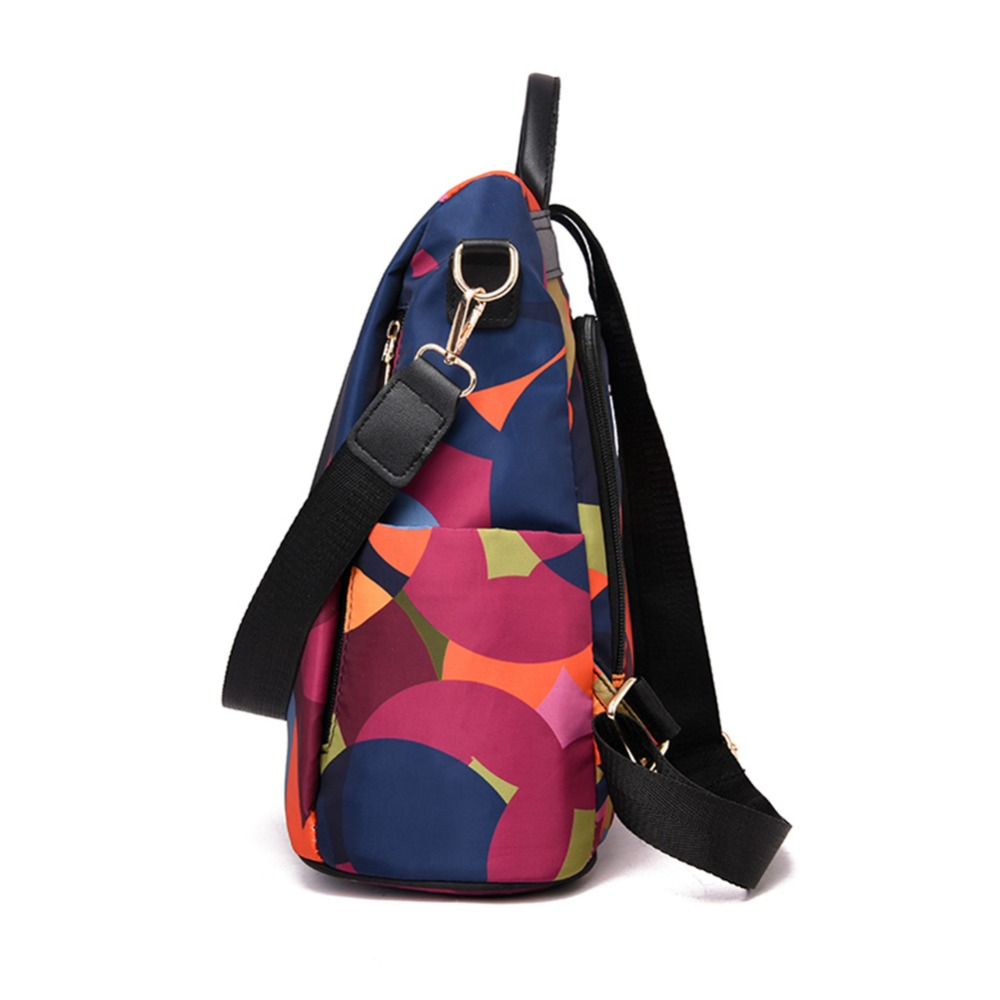 HTB1tptnbBWD3KVjSZFsq6AqkpXaV Casual Oxford Cloth Women Backpack Anti Theft Girls Schoolbags Teenager Travel Daypack Shoulder Bag Colorful Fashion Back Pack