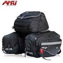 Брендовые AMU седельные сумки для мотоцикла, мотоциклетная сумка с задней окантовкой, сумка для мотокросса, сумка для шлема, рыцарский дождевой хвост, багаж, Оксфордские сумки