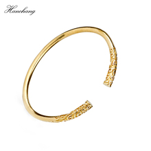 HANCHANG Unique Charm Chinese Myth Of The Monkey King Bangle Dragon Ball Opening Retro For Men Women Lovers Couple Bracelets