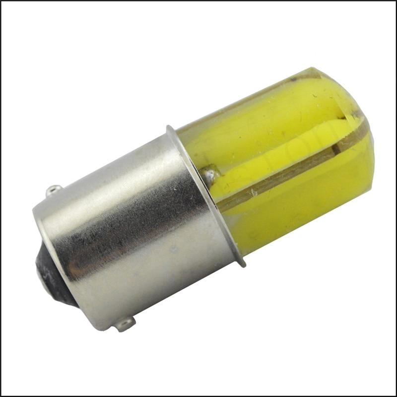 2pcs P21W LED 1156 BA15S Silicone COB LED Bulbs Car Lights Turn Signal Reverse Brake Light R5W LEDs 12V Amber or White Lamp