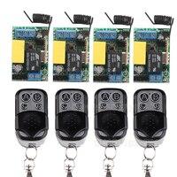 Free Shipping AC 220V 1 CH Relay Mini Receiver 10A Remote Switch Input AC220V Wireless Switch